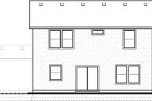 House Plan Design - Traditional Exterior - Rear Elevation Plan #1073-9