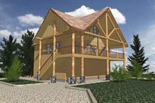 Modern Exterior - Front Elevation Plan #117-240