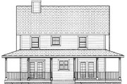 Southern Style House Plan - 4 Beds 2.5 Baths 1758 Sq/Ft Plan #3-144 Exterior - Other Elevation
