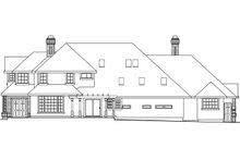 Dream House Plan - European Exterior - Rear Elevation Plan #124-349