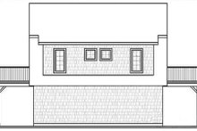 House Design - Country Exterior - Rear Elevation Plan #23-756
