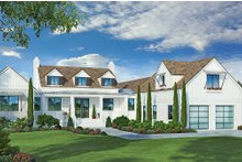 House Plan Design - Farmhouse Exterior - Front Elevation Plan #938-105