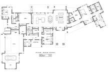 Contemporary Floor Plan - Main Floor Plan Plan #892-20