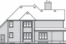 Dream House Plan - Traditional Exterior - Rear Elevation Plan #23-871