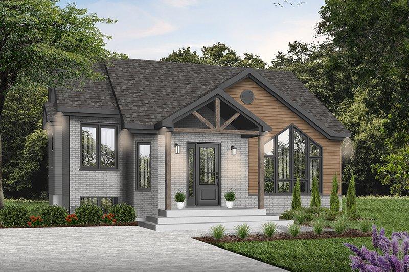 House Design - Mediterranean Exterior - Front Elevation Plan #23-701