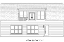 Country Exterior - Rear Elevation Plan #932-184