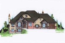 Home Plan - European Exterior - Front Elevation Plan #5-315