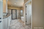 Ranch Style House Plan - 3 Beds 2 Baths 1818 Sq/Ft Plan #929-1002 Interior - Master Bathroom