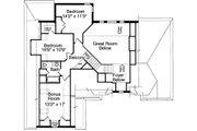 Traditional Style House Plan - 3 Beds 2.5 Baths 2077 Sq/Ft Plan #46-132 Floor Plan - Upper Floor Plan