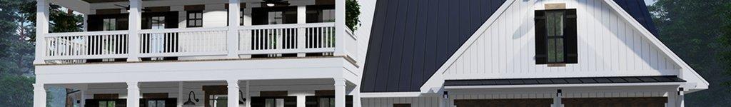Southern Farmhouse House Plans, Floor Plans & Designs