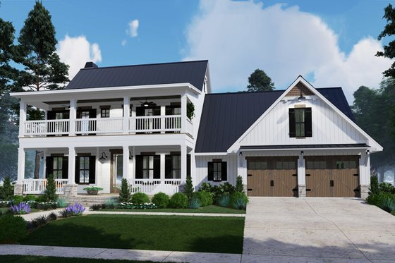 House Plan Design - Southern Exterior - Front Elevation Plan #120-260