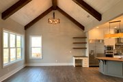 Farmhouse Style House Plan - 3 Beds 3.5 Baths 2741 Sq/Ft Plan #437-97 Interior - Family Room