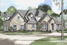 Architectural House Design - European Exterior - Front Elevation Plan #17-569
