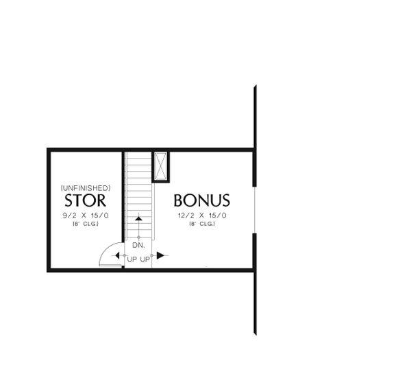 Craftsman Floor Plan - Other Floor Plan Plan #48-555