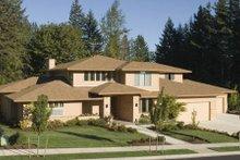 Dream House Plan - Mediterranean Exterior - Front Elevation Plan #48-146