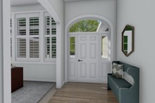 Architectural House Design - Traditional Interior - Entry Plan #1060-100