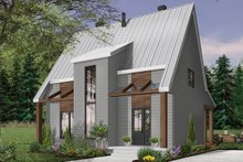Architectural House Design - Modern Exterior - Front Elevation Plan #23-2682
