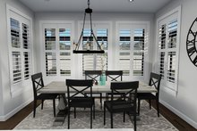 Dream House Plan - Ranch Interior - Dining Room Plan #1060-30