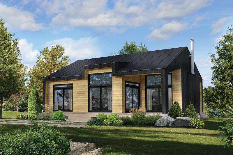 Home Plan - Cottage Exterior - Front Elevation Plan #25-4935