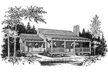 House Plan Design - Country Exterior - Other Elevation Plan #22-128
