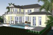 Mediterranean Style House Plan - 4 Beds 5.5 Baths 4450 Sq/Ft Plan #548-17