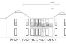 Traditional Exterior - Rear Elevation Plan #45-130