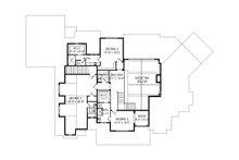 Craftsman Floor Plan - Upper Floor Plan Plan #920-96