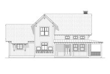 Home Plan - Farmhouse Exterior - Front Elevation Plan #901-11