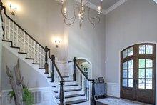 Architectural House Design - European Interior - Entry Plan #929-855