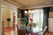 European Style House Plan - 5 Beds 4.5 Baths 3525 Sq/Ft Plan #927-24 Interior - Dining Room
