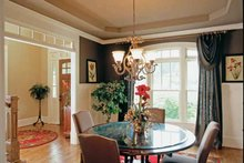 Dream House Plan - European Interior - Dining Room Plan #927-24