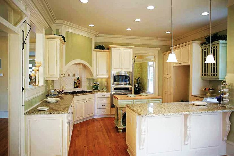 Victorian Interior - Kitchen Plan #410-104 - Houseplans.com