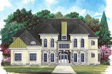 Dream House Plan - European Exterior - Front Elevation Plan #119-249