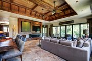 Beach Style House Plan - 4 Beds 4.5 Baths 5680 Sq/Ft Plan #548-12 Interior - Family Room