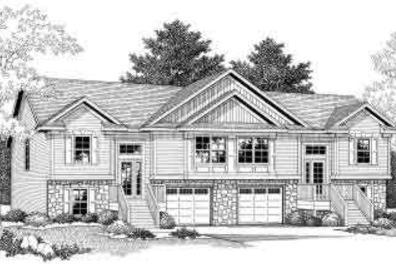 Traditional Exterior - Front Elevation Plan #70-742