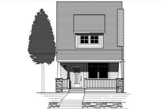 Craftsman Exterior - Front Elevation Plan #423-3