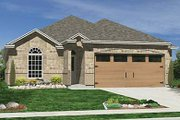 Traditional Style House Plan - 4 Beds 2 Baths 1984 Sq/Ft Plan #84-270 Exterior - Front Elevation