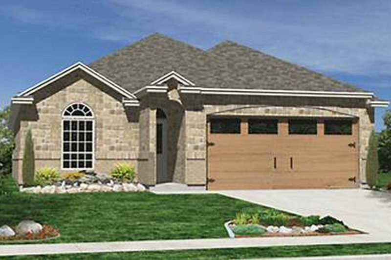 Traditional Exterior - Front Elevation Plan #84-270 - Houseplans.com
