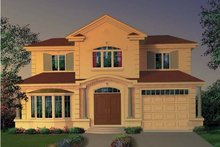 Exterior - Front Elevation Plan #23-490