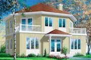 European Style House Plan - 3 Beds 2 Baths 1944 Sq/Ft Plan #25-2284 Exterior - Front Elevation