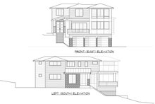 House Plan Design - Contemporary Exterior - Other Elevation Plan #1066-62