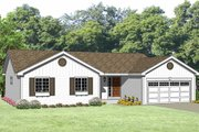Ranch Style House Plan - 3 Beds 2 Baths 1220 Sq/Ft Plan #116-239