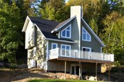 Country Style House Plan - 2 Beds 2 Baths 1285 Sq/Ft Plan #23-2030 Exterior - Other Elevation