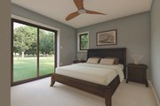 Bungalow Style House Plan - 2 Beds 1.5 Baths 922 Sq/Ft Plan #126-208 Interior - Master Bedroom