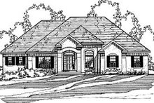 House Plan Design - European Exterior - Front Elevation Plan #31-105