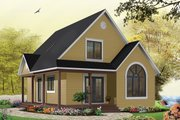 Cottage Style House Plan - 3 Beds 2 Baths 1226 Sq/Ft Plan #23-824