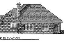Traditional Exterior - Rear Elevation Plan #70-275