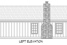 Country Exterior - Other Elevation Plan #932-199