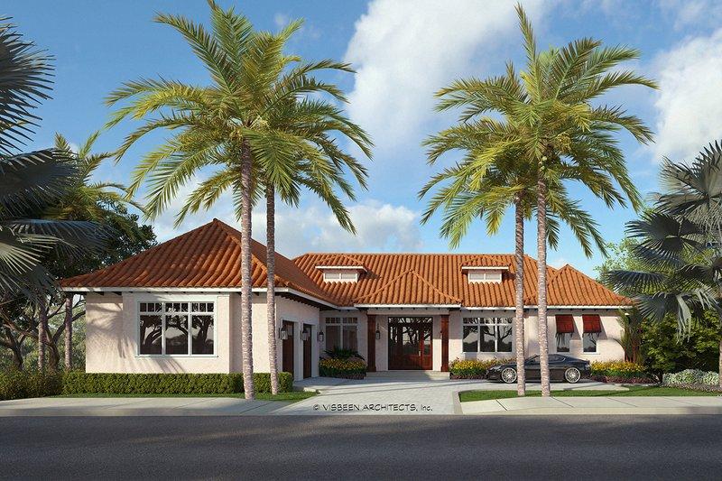 House Plan Design - Adobe / Southwestern Exterior - Front Elevation Plan #928-339