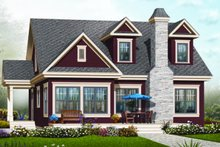 Dream House Plan - Country Exterior - Front Elevation Plan #23-2241